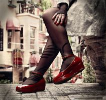 Red Shoes.. by beynimzonkluyor
