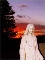 Mother Mary by jackaltooth