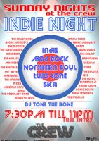Indie Night Poster by Biomox