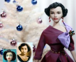Tribute to my Mom - 15 inch Custom doll repaint by noeling