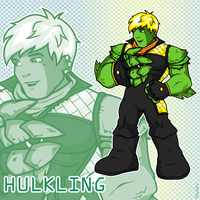 Super Hero Hulkling by ishipit