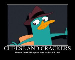 Cheese and Crackers poster by AgentBengalTiger