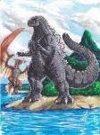 Godzilla II by SuperSaiyanGod-Zilla