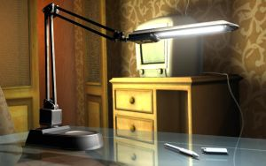 3D table lamp by aztigart