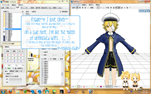 MMD WIP- Oliver by youkou-chan