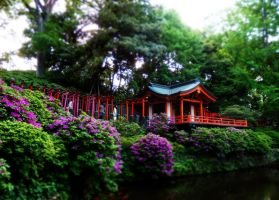 Japanese temple by postaldude66