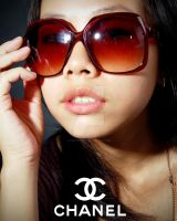 Chanel Sunglasses Ad. by babyskiffie