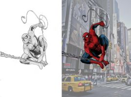 Spiderman in New York by Ygor-oraculo