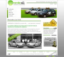 Luz Verde Website by S0LANGE