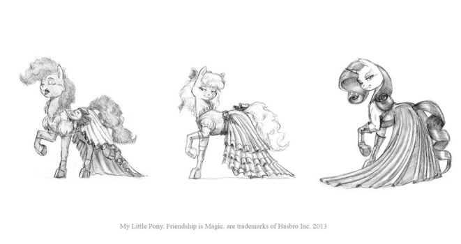 Fancy dress for the mares 02 by Baron-Engel