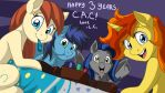 CAC 3 Years! by LateCustomer