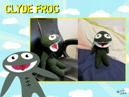 Clyde Frog by Konstance