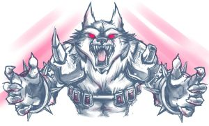 Warwick Doodle by RinTheYordle