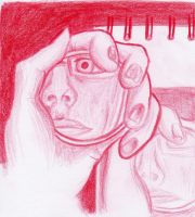 Observation - Red Self by kalistina