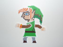 Painting Link by evilpika