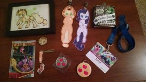 Bronycon '14 (small items) by DoomZealot
