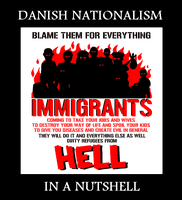 Denmark vs Immigrants by Atamolos
