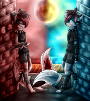 Two sides by Emijuh