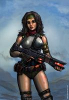 Busty Bunkerbuster by SirTiefling