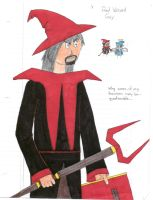 Red Wizard Guy by Drakiin-Magis
