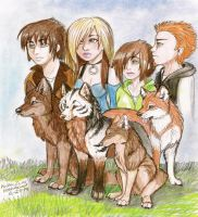 Wolf's Rain Next Generation by NatsumeWolf