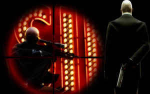 Hitman Sniper Wallpaper by DEVILUSHNINJA