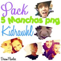 Pack manchas Png Kidrauhl by Dreamflawless