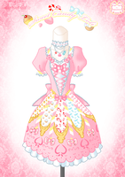 Sweet Candy Loli Dress by Neko-Vi