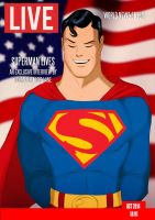 Superman Lives By Joe Otis Costello and Des Taylor by DESPOP