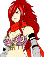 erza knightwalker by Bleach-Fairy