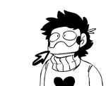 Zacharie's real face by AdorkableMarina