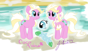 Coco Aloha (Contest Entry) by Jenfazz