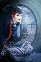 Dark Victorian Lady by MADmoiselleMeli