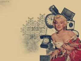 Marilyn Monroe Wallpaper. by andreamb
