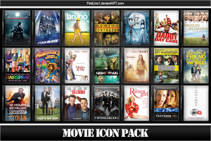 Movie Icon Pack 59 by FirstLine1
