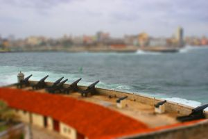 Tilt-Shift Cuba Fortifications by egypt-rai