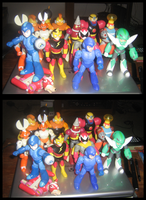 The New Bandai Collection by ProfessorMegaman