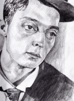 Buster Keaton by KingVahagn