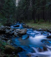 Carpathian river by KARRR