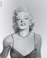 Marilyn Monroe by puzzleheaded
