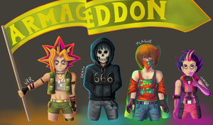 Protagonists of the Apocalypse by xmellulahx