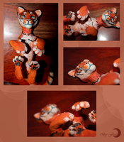Tiger toy by FlashW