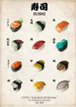Clay Sushi Menu by lololollipop