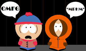 Stan and Kenny, OMFG by ScrewStudying