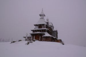 The Old Chapel in winter by RukarioNakamura