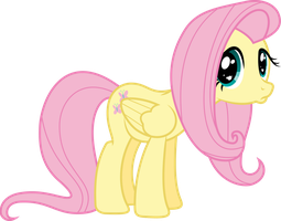 Poutyface Fluttershy by VladimirMacHolzraum