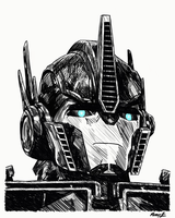 Optimus Prime by PDJ004