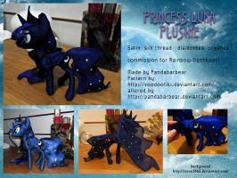 Princess Luna by PandaBarBear