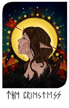 The Priestess tarot card by xxmiraine