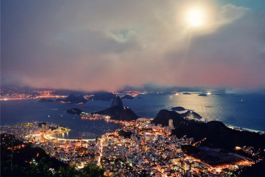 Rio by Moonlight by IsacGoulart